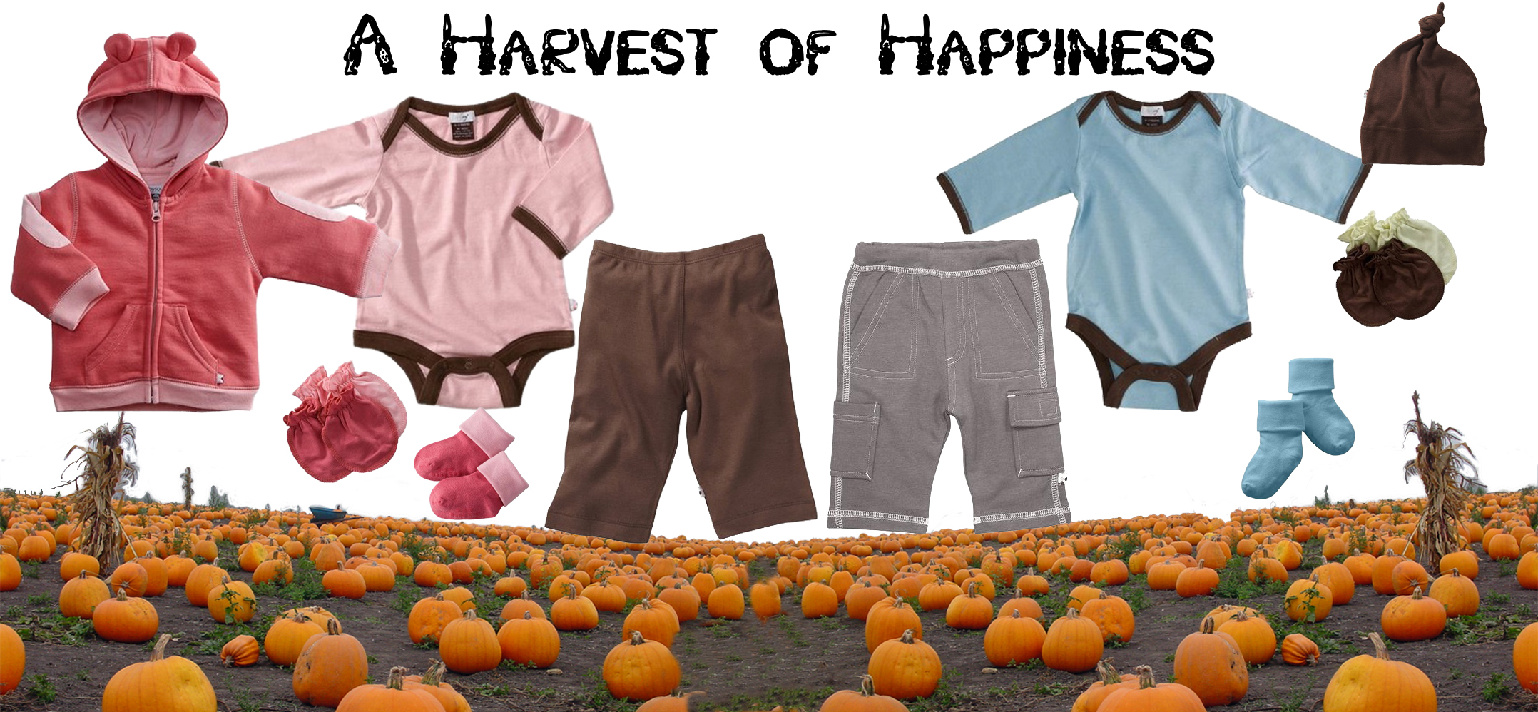 A Harvest of Happiness Collage
